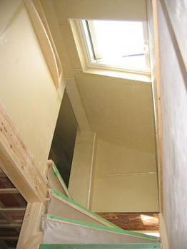 階段天窓と出窓.JPG